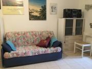 divano letto in soggiorno